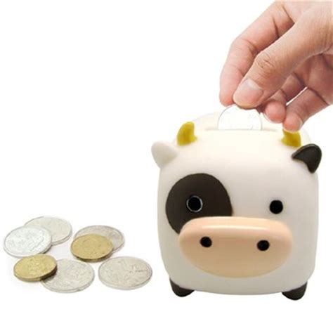 cow money bank 20 pcs cow money box money bank promotional gift