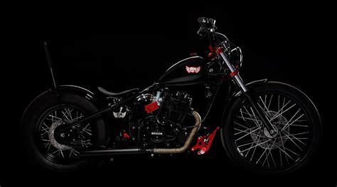 Brook Chopper Motorrad by Bramos Motorcycles Kustomz