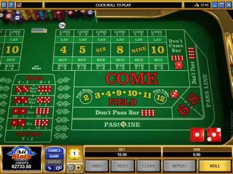 microgaming vegas craps payout tables rules