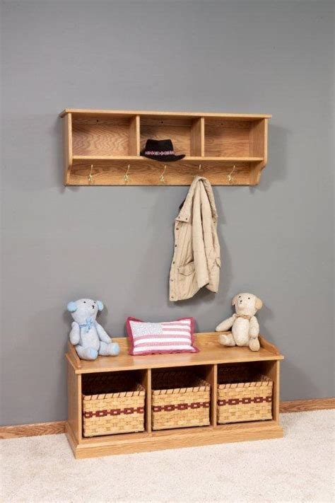 coat bench furniture home furniture decoration entryway storage hooks