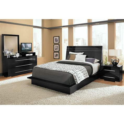 dimora black queen bed dimora queen panel bed black value city furniture