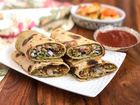 Kala S Kitchen by Chatpata Kala Chana Pakora Roll Frankie Recipe By Archana