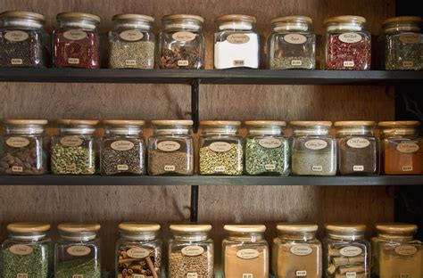 Shelf Of Spices by How To Store Your Herbs And Their Shelf