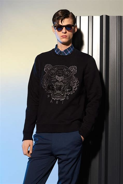Sweater Hoodie For Persija Jaspirow Shopping 1 Kenzo Tone On Tone Tiger Sweatshirt Kenzo Sweatshirts