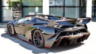 Top 10 Fastest Lamborghini Cars Lamborghini Veneno Roadster Looks Stunning In Black