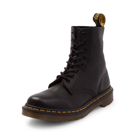 Dr Martens womens dr martens pascal 8 eye boot black 569348