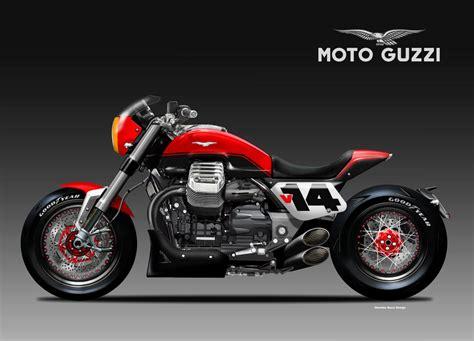 Garage Designer by Racing Caf 232 Design Corner Moto Guzzi V14 Bolide Rosso