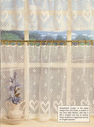 crochet cafe curtains pattern free cafe curtain patterns curtain menzilperde net