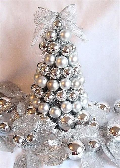 blue and silver cone christmas tree top silver and white decoration ideas celebration all about
