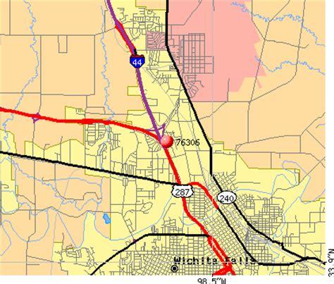 zip code map wichita falls tx wichita falls zip code map zip code map