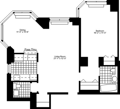 Luxury Home Floorplans 105 Duane Street Rentals Tribeca Tower Apartments For