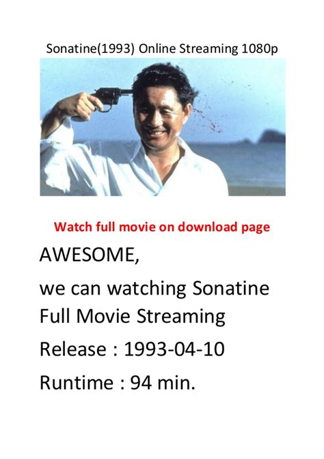 bester action comedy film sonatine 1993 online streaming 1080p hollywood best
