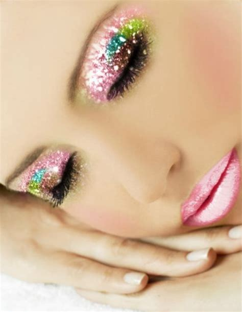 Glitter Lipstick Make pink glitter makeup pictures photos and images for and