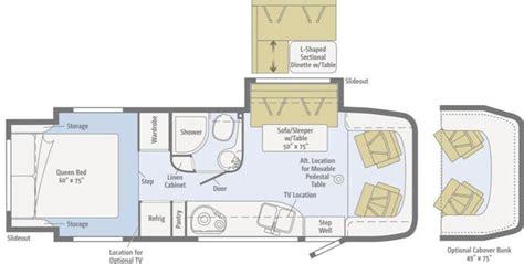 winnebago view floor plans 2016 winnebago view 24g class c affinity rv service