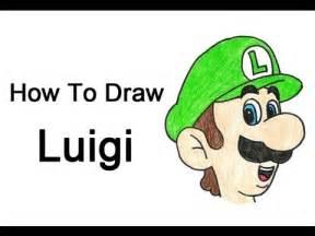How to draw luigi mario bros youtube