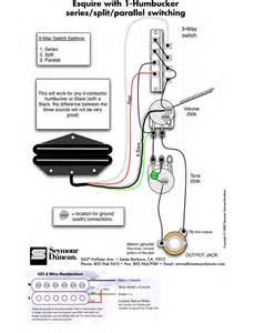 esquire humbucker wiring question telecaster guitar forum