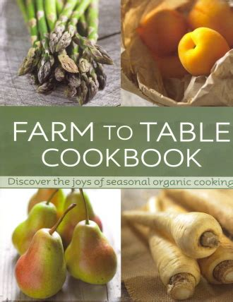 farm to table cookbook suggestions