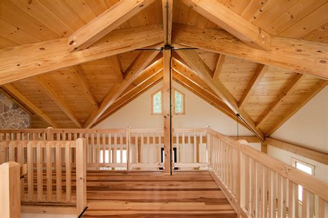 Log Cabin Beams by Post Beam Tour By Timberhaven Log And Timber Homes
