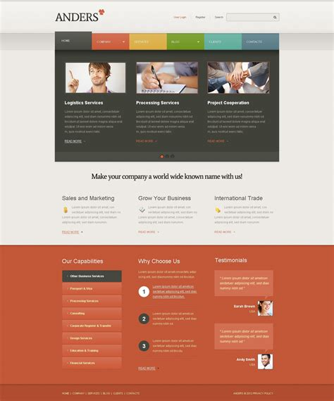 wordpress templates for advertising advertising agency wordpress theme 40258