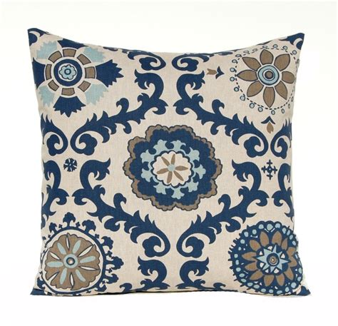 living room throw pillow covers one navy blue pillow cover throw pillow cover indigo
