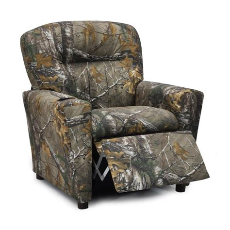Realtree Camo Furniture Realtree Kids Recliner Camo Trading