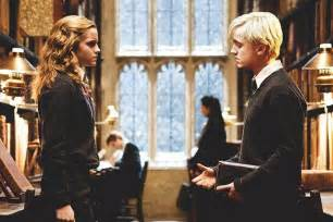 so hermione and malfoy totally had a thing basically