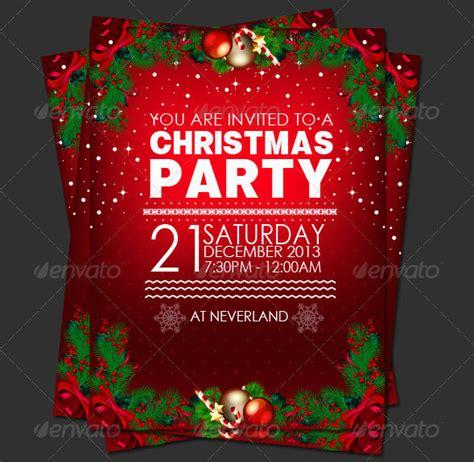 christmas invitation templates free editable invitation editable for