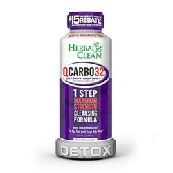 Qcarbo32 Detox Reviews For Opiates by Herbal Clean Qcarbo32 Grape Flavor Best 4 Test