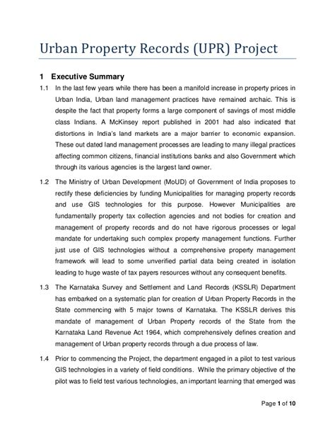 Record Property Ownership Property Ownership Records Background Document