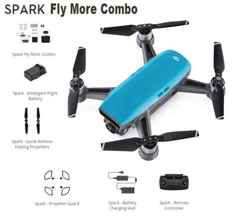 Phanton Drone Dji Spark Fly More Combo Drone dji spark drone quot ciel bleu quot fly more combo dji spark bleu fly miniplanes