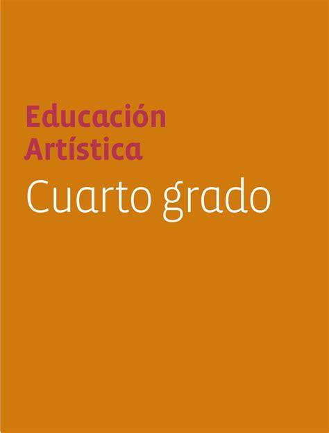 imagenes sensoriales para cuarto grado educaci 243 n artistica 4to grado by sbasica issuu