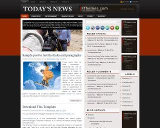 download template blog magazine terbaru di dunia baru