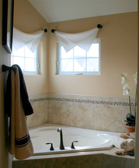 Curtain Ideas For Bathroom Modern Interior Bathroom Window Treatments