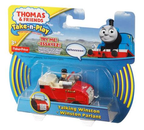 Fisher Price And Friend Serie Winston fisher price friends take n play portable railway