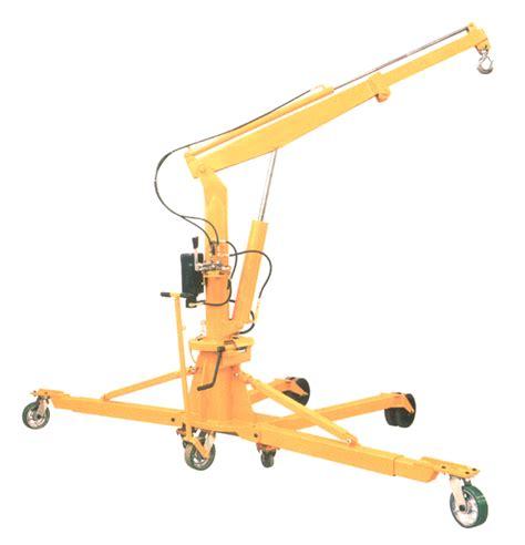 mobile floor crane catalogue hydraulic floor crane master mobile hydraulic