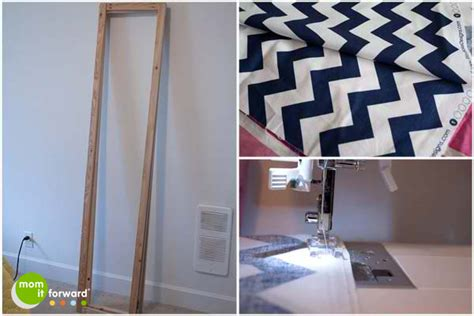 Diy How To Make A Chevron Room Divider Or Dressing Screen How To Build A Room Divider
