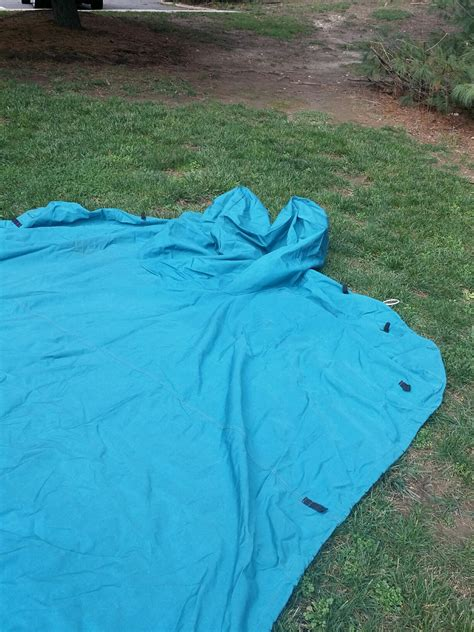 20 ft boat cover very slightly used 20ft bowrider boat cover with support