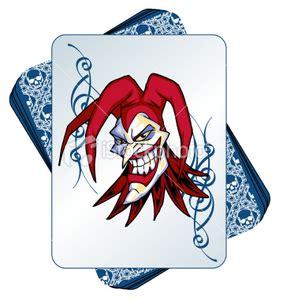 joker tattoo z kartami istockphoto wild joker in a deck of cards free images at