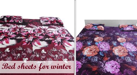 bed sheets winter accessories
