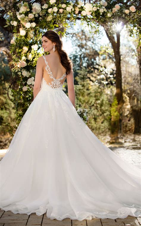 Wedding Gowns Dresses by Princess Wedding Dresses Textured Princess Wedding Gown