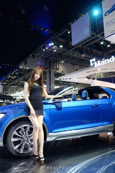 motor show 2015 han ji yeon seoul motor show 2015