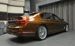 Bmw B7 Alpina B7 Individual Certainly Looks Different In Chestnut
