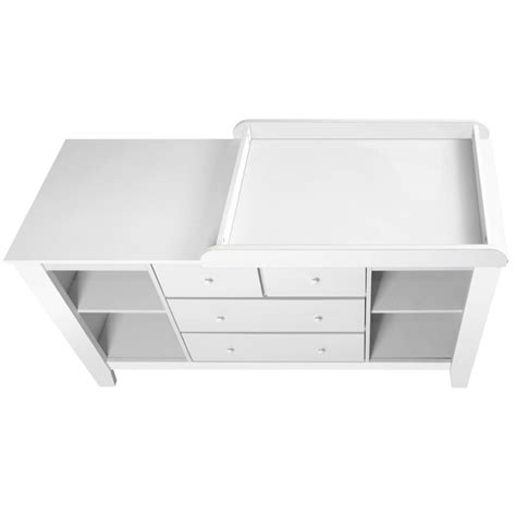 White Change Table With Drawers Baby Change Table Station With 4 Drawers In White Buy 30 50 Sale
