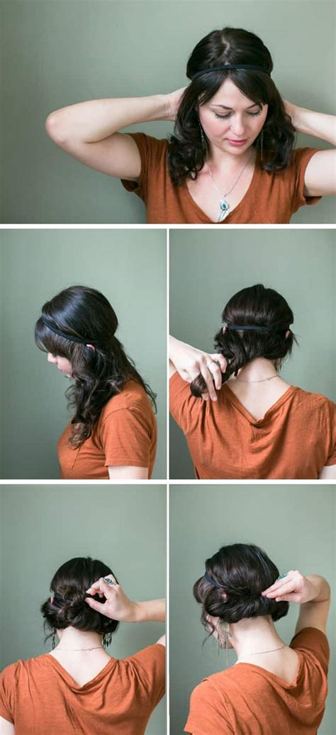 2 minute easy updo tutorial hellonatural co