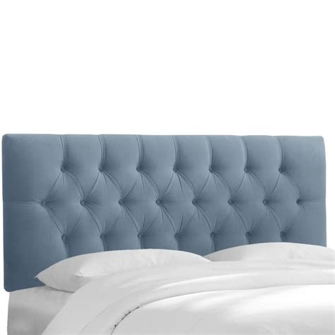 skyline upholstered headboards skyline upholstered tufted king headboard in ocean
