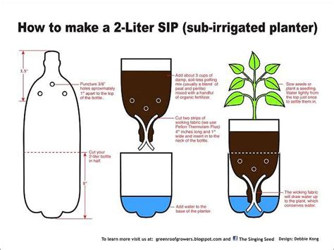 diy self watering herb garden 25 best ideas about self watering bottle on pinterest