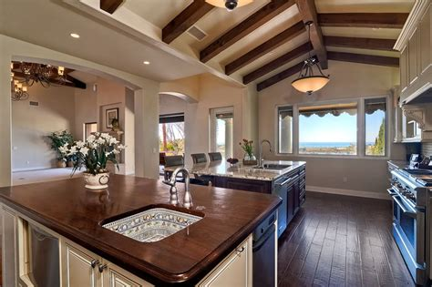 wood ceiling kitchen 37 craftsman kitchens with beautiful cabinets designing idea