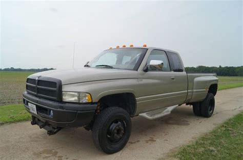 how do i learn about cars 1996 dodge ram 2500 electronic throttle control buy used 1996 dodge 3500 4x4 pick up truck dually nice hauler low miles nr in pontiac illinois