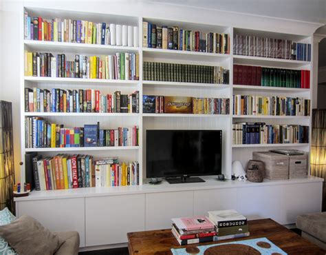 custom bookshelves northern beaches sydney