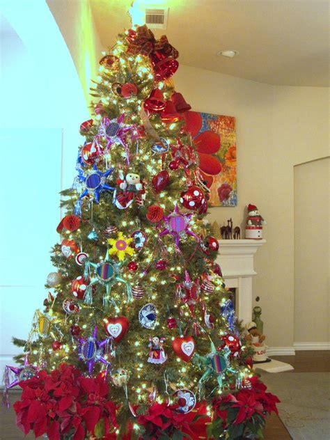 christmas tree mexican christmas ornaments pinterest